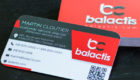 Balactis Business Cards